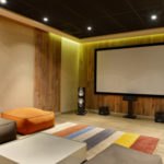 Custom Home Theater for Man Cave